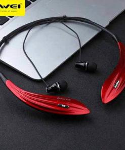 หูฟังบลูทูธไร้สาย AWEI Wireless Sports Stereo Headset รุ่น A810 BL