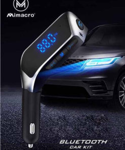 MIMACRO CAR MP3 PLAYER-CHARGER-2XUSB BLUETOOTH