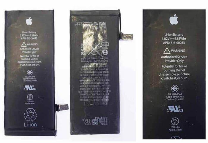 แบตเตอรี่ iphone 6s